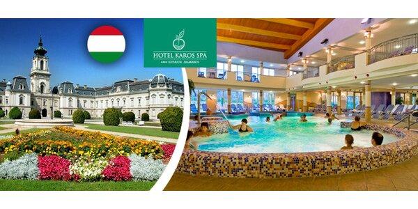 Relax v maďarských termálech. Dítě do 6 let zdarma!