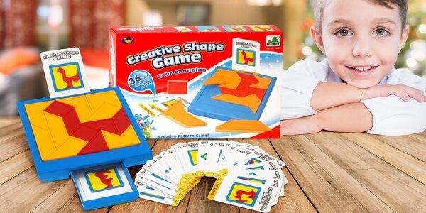 Hra pro děti i dospělé: zábavný skládací hlavolam