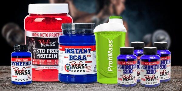 Balíček pro nárůst svalů nebo redukci tuků