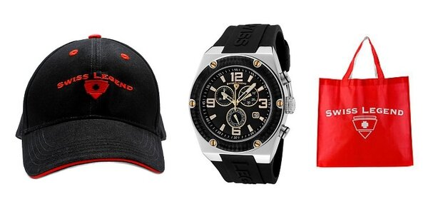Luxusní pánské sportovní hodinky Swiss Legend