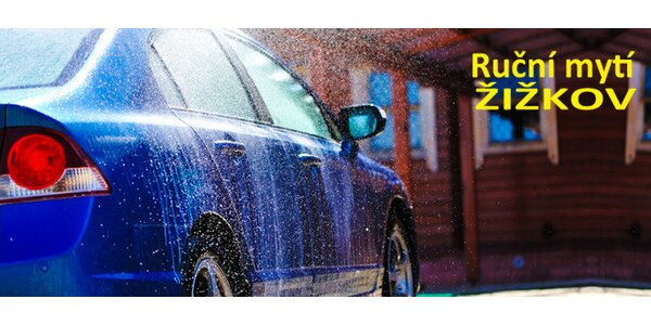 Kompletní ruční mytí auta a čištění interiéru