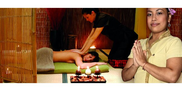 Luxusní thajské masáže