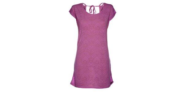 Dámské fialové plážové šaty Mambo