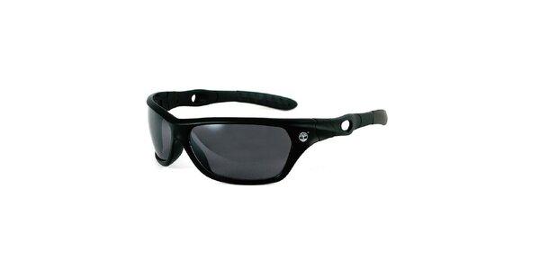 Černé sluneční brýle s šedými skly Timberland