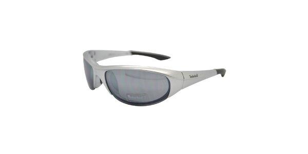 Šedé metalické brýle Timberland