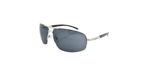 Stříbrno-šedé sluneční brýle Timberland