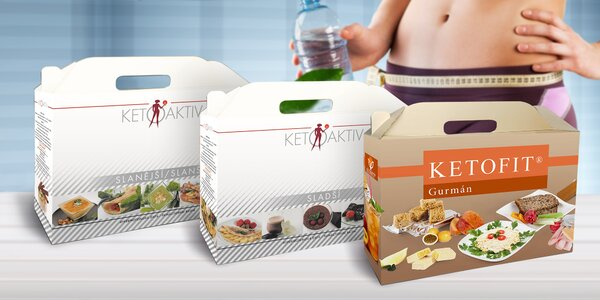 Proteinová dieta KETOAKTIV® a KETOFIT® Gurmán