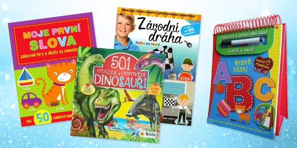 Kreativní i zábavně-vzdělávací dětské knihy