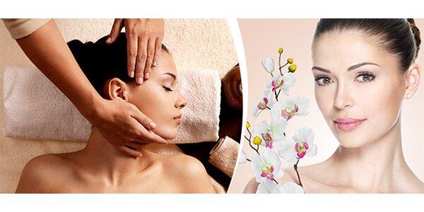 Luxusní relaxační masáž obličeje