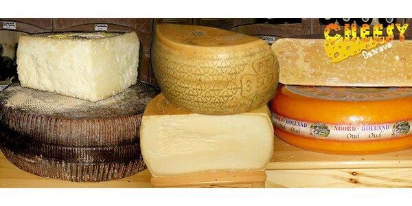 200 g sýra z oblíbené sýrárny Cheesy dle výběru