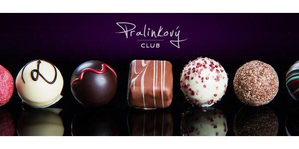 Luxusní pralinky nebo čokoláda