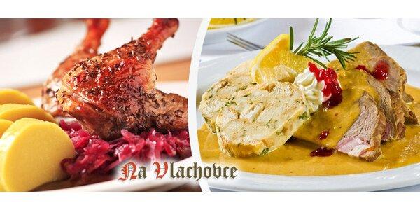 Voucher (400 Kč) na jídlo do restaurace na Vlachovce