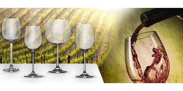 Sada šesti sklenic na víno značky Thun