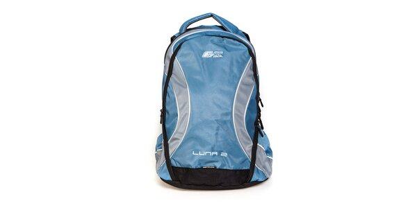 Světle modrý sportovní batoh F7 Luna II. s šedými detaily