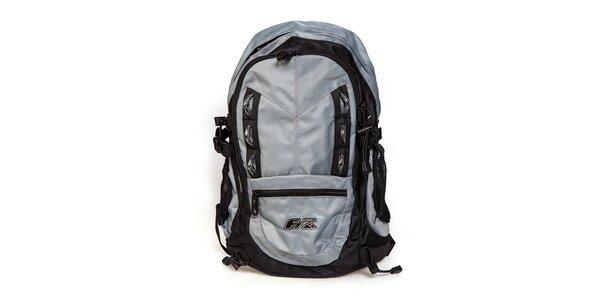 Šedo-černý sportovní batoh F7 Oberon
