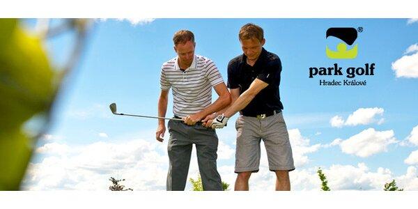 Pět vstupů na golfové hřiště až pro 5 osob