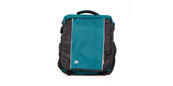 Tyrkysově modrý batoh F7 Arche