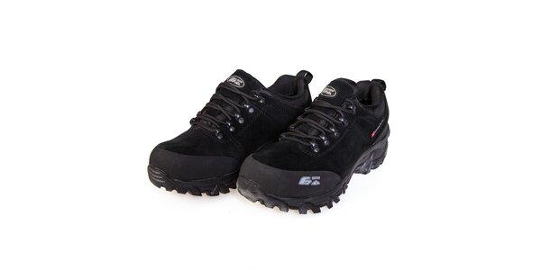 Černé nízké trekingové boty F7 Trail III. s membránou