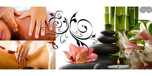 Regenerační masáž - výběr ze 4 druhů