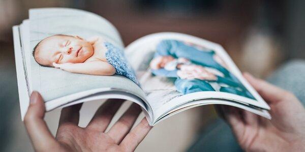 Fotokniha z vlastních fotografií, 15×14,5 cm