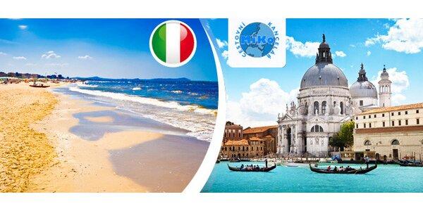 Jeden den v Itálii – u moře nebo v Benátkách