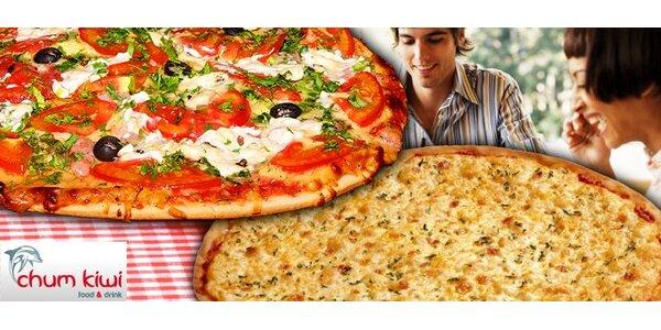 199 Kč za DVĚ pizzy a DVA saláty dle výběru s dovozem až k vám domů!