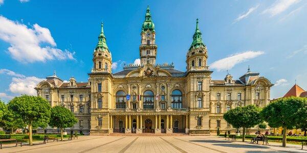 3* relax v Győru s polopenzí a vstupem do lázní