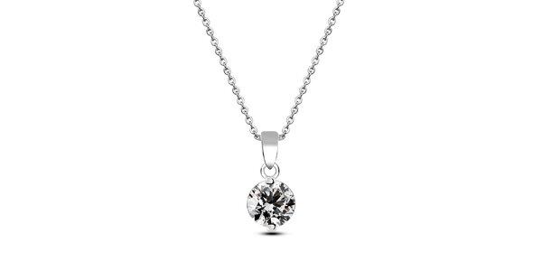 Dámský náhrdelník se zirkonem Giorgio di Mare