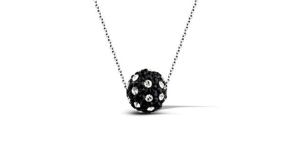 Dámský náhrdelník s tečkovanou disko koulí Giorgio di Mare