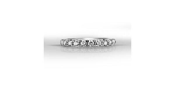 Dámský stříbrný prsten se zirkony Giorgio di Mare