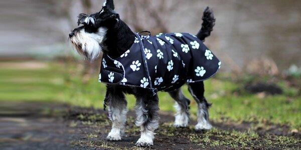 Nepromokavé psí oblečky vhodné i jako zábal