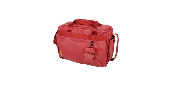 Dámská červená cestovní taška Mandarina Duck