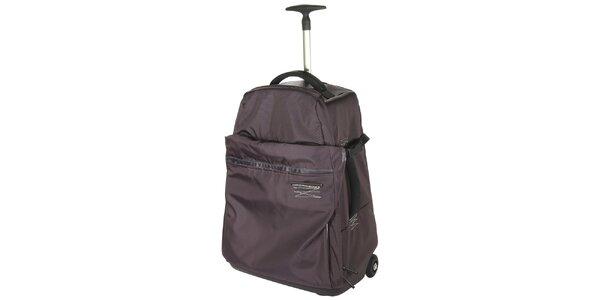 Fialový batoh na kolečkách Mandarina Duck