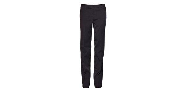 Dámské tmavě šedé společenské kalhoty Vero Moda s puky