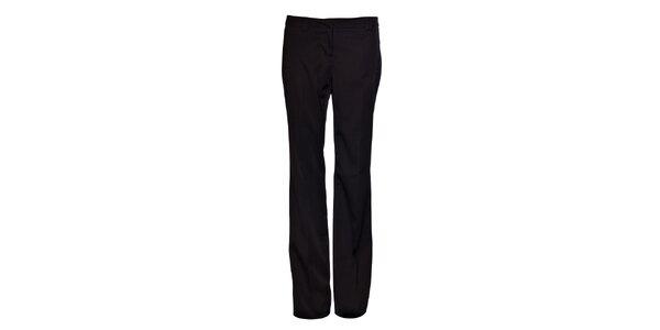 Dámské černé společenské kalhoty Vero Moda s puky