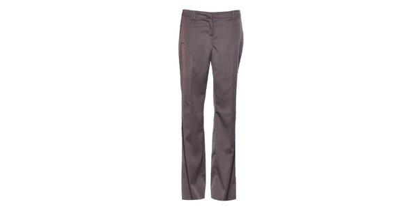 Dámské šedé společenské kalhoty Vero Moda s puky