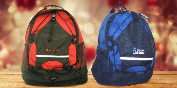 8d0b2f5effb Univerzální sportovní batohy o objemu 20 i 30 l