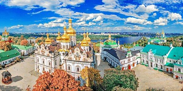 Poznávací zájezd na Ukrajinu: 4 noci v hotelu