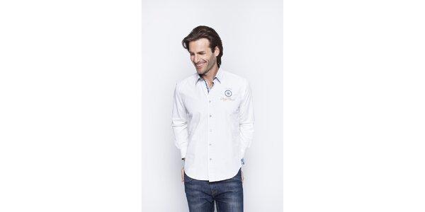 Pánská bílá košile Giorgio di Mare