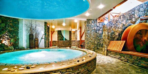 Unikátní 4* relax: jacuzzi bar, vířivka, bazény