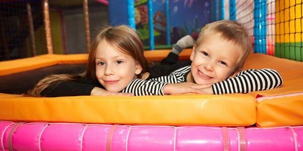 Dětské centrum: 1 či 10 vstupů pro dítě a 2 dospělé