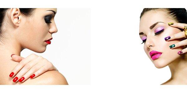Modeláž nehtů UV gelem
