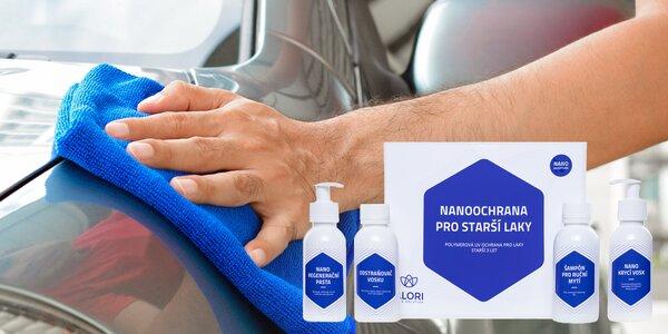 Sada autokosmetiky Alori pro čištění kůže i laku