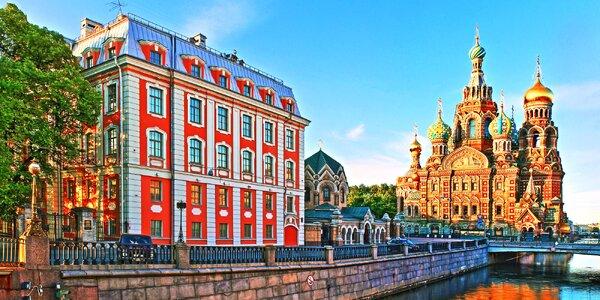 Krásy Pobaltí a Petrohradu: 4x nocleh se snídaní