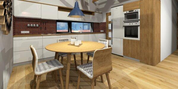 Konzultace s architektem i návrh místnosti