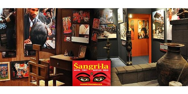 2 lístky na výstavu Šangri–la na zámku ve Zlíně