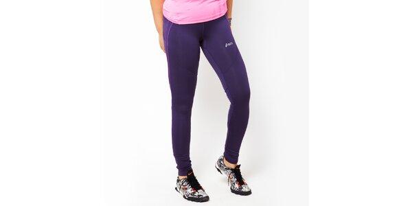 Dámské fialové sportovní legíny Asics