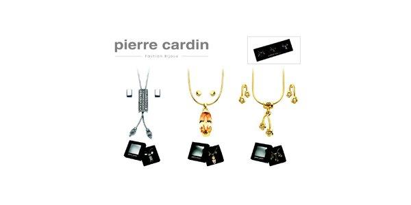 Dárková sada tří náhrdelníků a tří párů náušnic Pierre Cardin