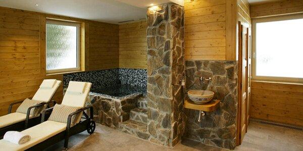 Krásný apartmán pro 4 osoby s privátním wellness