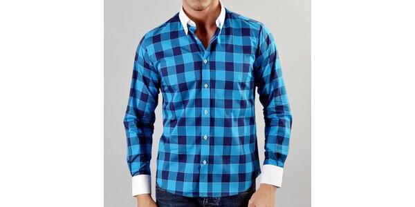 Pánská košile Marcel Massimo s modrými kostkami